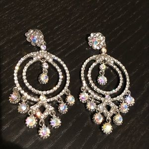 Earrings for prom, wedding, pageant, or formal
